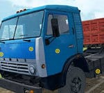Kamaz Trucks Hidden Tires