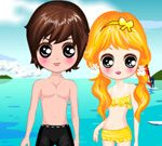 Kawaii Lover Beach Dressup